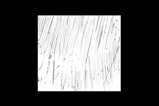 Exorde, 2013, assemblage de stèles funéraires en parpaings découpés et vidéo, diaporama rapide, graphite sur papier A4. N&B, muet, en boucle.  Exposition : Compendium, à la galerie du second jeudi, Bayonne.