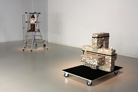 Cuesta Verde,2014, Exposition personnelle de  Rémi Groussin  lors du Festival international d'art de Toulouse 2014, Artist Comes First Commissariat Jean-Marc Bustamente.